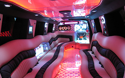 Asian Wedding Limo Hire Pink Hummer Indian Wedding Limo